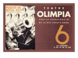 Theatre Olimpia Wall Decal by E. Mora