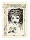 Dorothy Wall Decal by John R. Neill