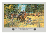 The Road to Fallen Timbers, Northwest Indian War Wall Decal by Hugh Charles Mcbarron Jr.