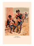 Infantry and Artillery, 1802-1810 Wall Decal by H.a. Ogden