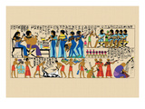 Celebration from a Tomb at Thebes Wall Decal by J. Gardner Wilkinson