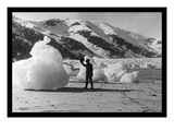 Taku Glacier in Skagway Alaska Wall Decal by L.h. Pedersen