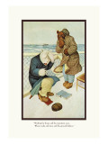 Teddy Roosevelt's Bears: Teddy B and Teddy G Are Seasick Wall Decal by R.k. Culver