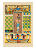 Egyptian Ornamental Patterns Wall Decal by J. Gardner Wilkinson