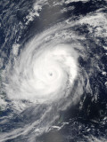 Typhoon Sudal off the Philippines Photographic Print by  Stocktrek Images