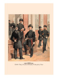 Staff, Field and Line Officers and Enlisted Men Wall Decal by H.a. Ogden