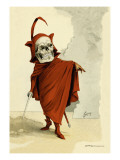 Red Death Wall Decal by F. Frusius M.d.