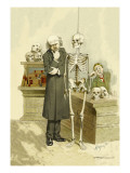Death under Inspection Wall Decal by F. Frusius M.d.
