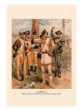 Miscellaneous Organizations, Continental Army Wall Decal by H.a. Ogden