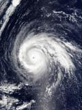 Typhoon Higos Photographic Print by  Stocktrek Images