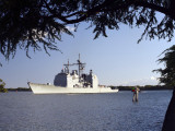 USS Mobile Bay Photographic Print by Stocktrek Images