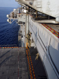 Marines and Sailors Fast-Rope from the Rear of a CH-46E Sea Knight Helicopter Photographic Print by  Stocktrek Images