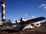 Antique Navy Seaplane Photographic Print by  Stocktrek Images