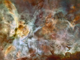 A 50-Light-Year-Wide View of the Central Region of the Carina Nebula Photographic Print by  Stocktrek Images