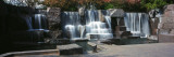 Waterfall at a Memorial, Franklin Delano Roosevelt Memorial, Washington Dc, USA Wall Decal by Panoramic Images 
