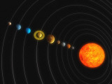 Solar System Photographic Print by  Stocktrek Images