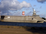 Sea Fighter, FSF-1, Littoral Surface Craft (LSC) Photographic Print by Stocktrek Images