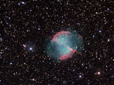 The Dumbbell Nebula Photographic Print by  Stocktrek Images
