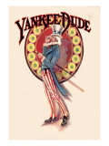 Yankee Dude Wall Decal by N.c. Chilberg