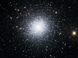 The Great Clobular Cluster in Hercules Photographic Print by  Stocktrek Images