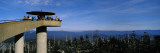 Tourists on an Observation Tower, Clingmans Dome, Great Smoky Mountains National Park, Tennessee Wall Decal by  Panoramic Images