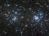 The Double Cluster, NGC 884 and NGC 869, as Seen in the Constellation of Perseus Photographic Print by  Stocktrek Images