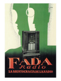 Fada Radio, La Aristocracia de la Radio Wall Decal by M. Miralles