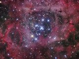 NGC 2244 Photographic Print by  Stocktrek Images