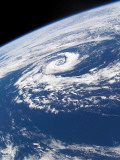March 10, 2002, a Well-Defined Subtropical Cyclone Over the Tasman Sea Photographic Print by Stocktrek Images