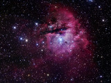 The Pacman Nebula Photographic Print by  Stocktrek Images
