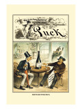 Puck Magazine: Bottled Politics Wall Decal by William W. Denslow
