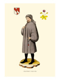 Geoffrey Chaucer Wall Decal by H. Shaw