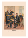 Officers General Staff and Staff Corp in Full Dress Wall Decal by H.a. Ogden