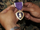 A Light Armored Vehicle Commander was Awarded the Purple Heart Photographic Print by Stocktrek Images