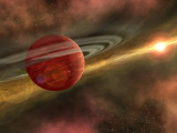 Artist Concept of a Possible Newfound Planet Photographic Print by Stocktrek Images 