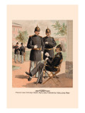 Field and Line Officers, Heavy Artillery and Infantry and Enlisted Men Wall Decal by H.a. Ogden
