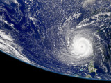 Hurricane Frances Photographic Print by  Stocktrek Images