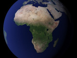Full Earth Showing Africa, Europe, & Middle East Photographic Print by Stocktrek Images