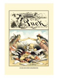 Puck Magazine: In His Second Childhood Wall Decal by F. Graetz