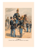 Enlisted Men, Cavalry and Infantry in Full Dress Wall Decal by H.a. Ogden