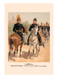 Brigadier-General, Staff and Line Officers in Full Dress Wall Decal by H.a. Ogden