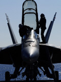F/A-18F Super Hornet Photographic Print by  Stocktrek Images