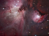 A View of the Trapezium Region, Which Lies in the Heart of the Orion Nebula Photographic Print by  Stocktrek Images