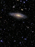 NGC 7331 is a Spiral Galaxy in the Constellation Pegasus Photographic Print by  Stocktrek Images