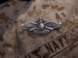 The Enlisted Fleet Marine Force Warfare Specialist Pin Photographic Print by Stocktrek Images