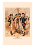 Infantry, Continental Army Wall Decal by H.a. Ogden