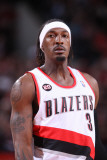 Charlotte Bobcats v Portland Trail Blazers, Portland, OR - March 5: Gerald Wallace Photographic Print by Sam Forencich