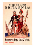 Side by Side, Britannia Wall Decal by Susan E. Meyer