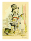 Death Picks a Tune Wall Decal by F. Frusius M.d.
