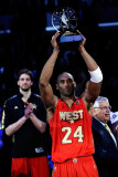 2011 NBA All Star Game, Los Angeles, CA - February 20: Kobe Bryant and Pau Gasol Photographic Print by Kevork Djansezian